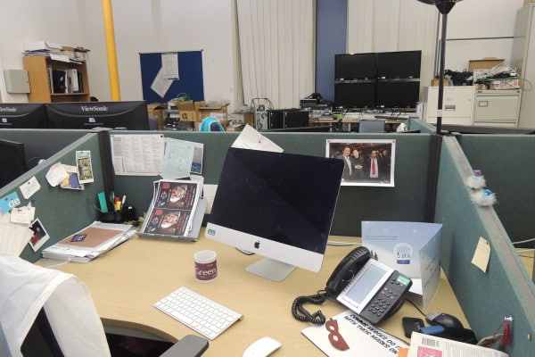 Desk space (various locations)