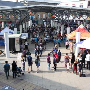 Chrisp Street Market Open Space