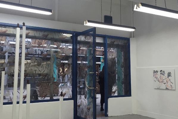 Inside 11 Market Way. Photo via @shelf_london Instagram
